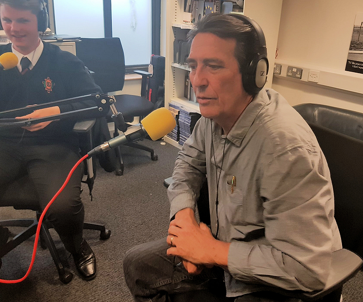 Ciaran Hinds on Radio YNP